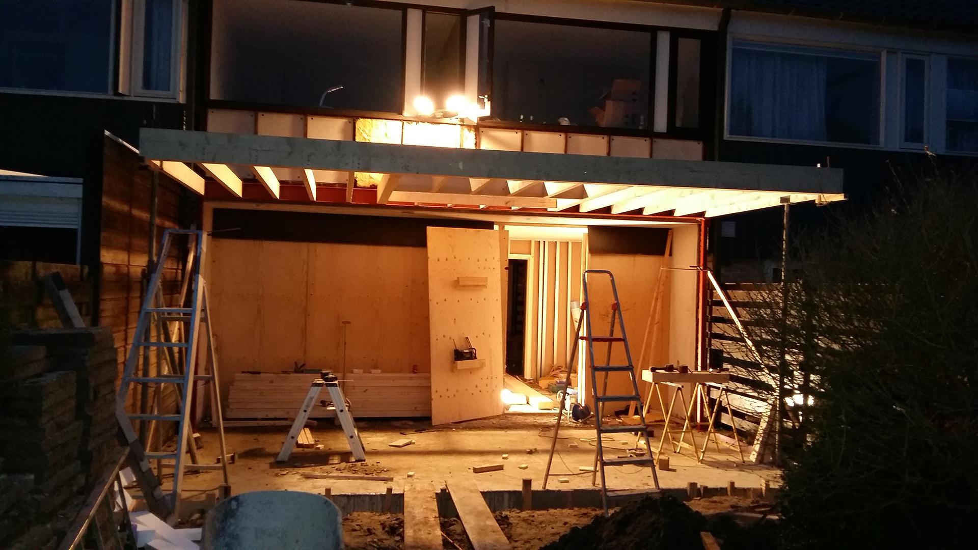 aanbouw en verbouwing